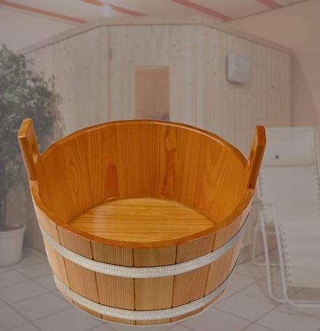 zur sauna geh rt ein fu becken fu badewanne f r ein fu bad. Black Bedroom Furniture Sets. Home Design Ideas