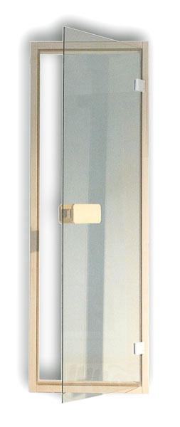 sauna ganzglast r saunaglast r klarglas einbaurahmen fichte selbsteinbau 6mm. Black Bedroom Furniture Sets. Home Design Ideas