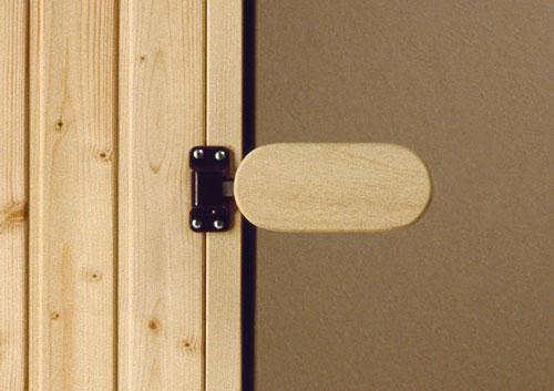 sauna rundbogent r saunaganzglast r bronziert einbaurahmen rechts fichte selbsteinbau. Black Bedroom Furniture Sets. Home Design Ideas