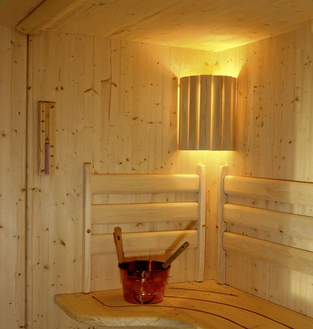 sauna lampenschirm eck saunalampe lampenfassung 84810. Black Bedroom Furniture Sets. Home Design Ideas