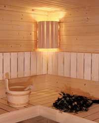 sauna lampenschirm eck saunalampe lampenfassung 84810. Black Bedroom Furniture Sets. Home Design Ideas