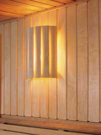 sauna lampenschirm wand saunalampe lampenfassung. Black Bedroom Furniture Sets. Home Design Ideas
