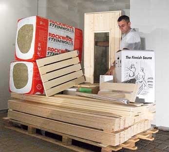 Hervorragend Saunaselbstbausatz Saunabausatz Eigenbau Sauna-Selber-Bauen Ihre  KU93