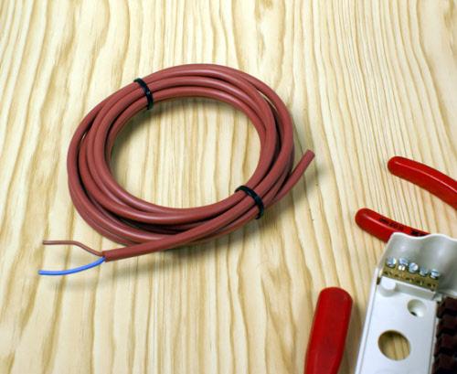 Exceptional Sauna Silicon Kabel Für Lampenanschluss