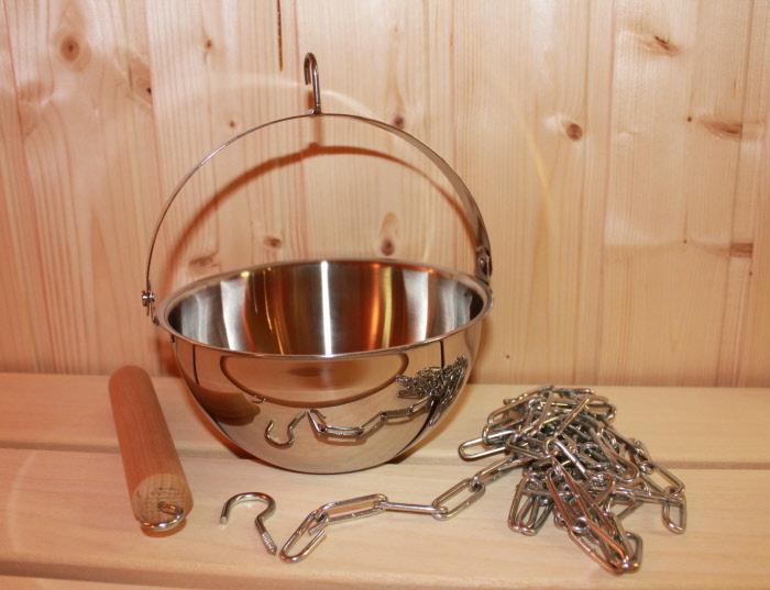 Sauna verdampferschale