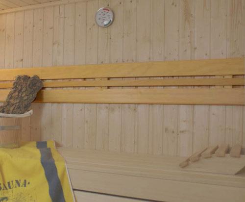 sauna r ckenlehne innenausstattung aus abachiholz. Black Bedroom Furniture Sets. Home Design Ideas